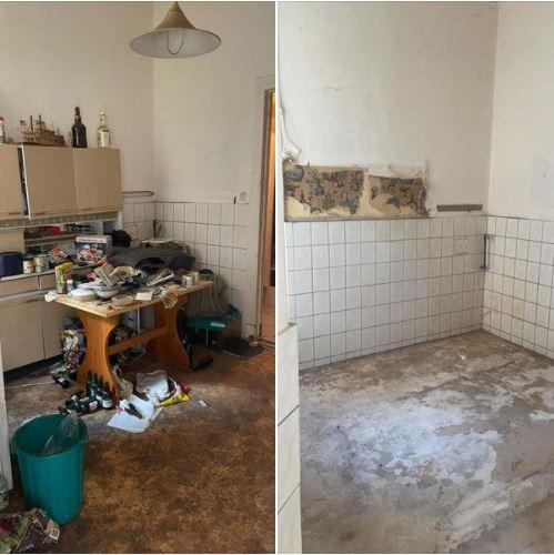 Messi Wohnungsräumung Berlin - Küche boden